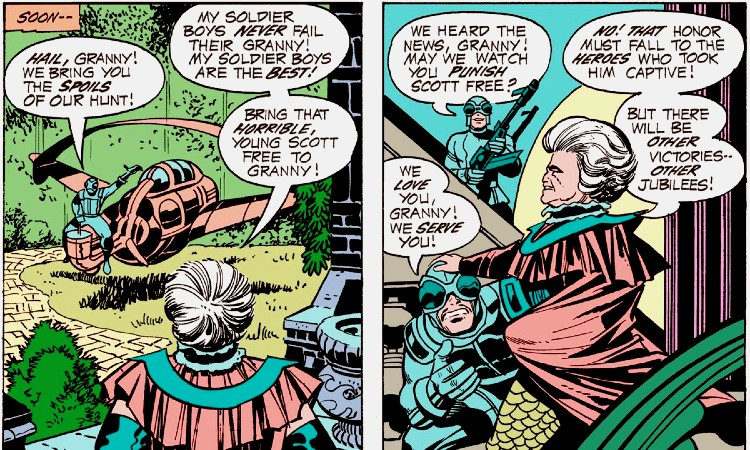 Granny Goodness by Kirby