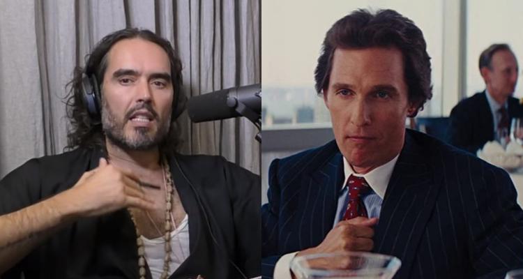 Russel Brand and Matthew McConaughey