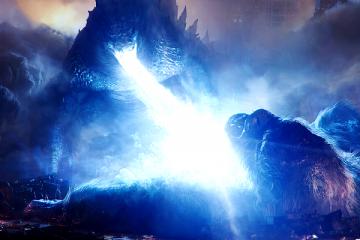Godzilla vs Kong-Legendary battle