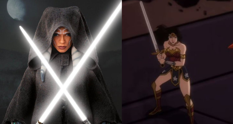 Ahsoka Tano and Wonder Woman