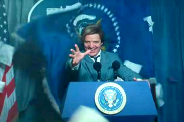 Pedro Pascal as Max Lord in WW84 is Trump