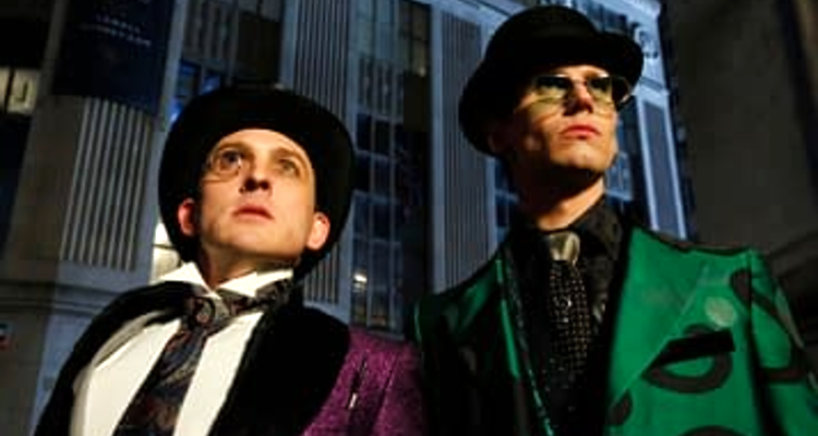 Riddler and Penguin in Gotham