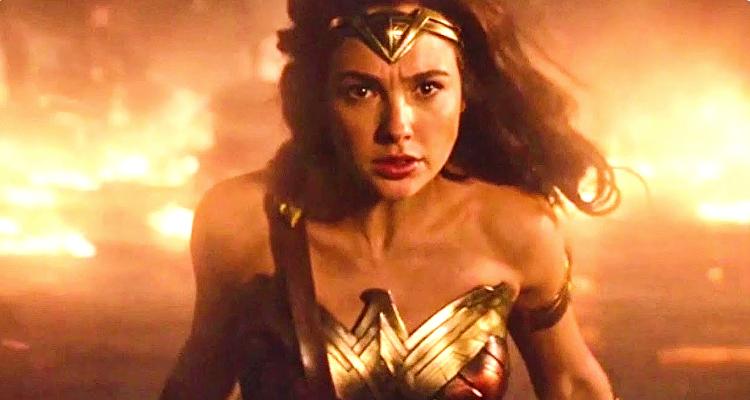 Wonder Woman - Fiery Ending