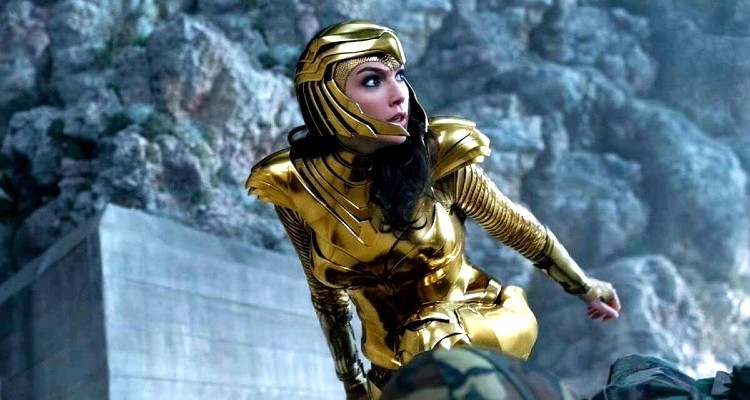 Wonder Woman 1984-Gold Armor