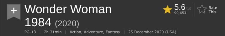 Screenshot 2020-WW84 IMDb score