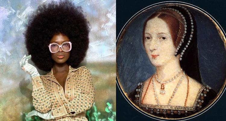 Anne Boleyn and Jodie Turner-Smith