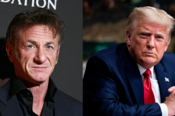 Sean Penn and Donald Trump