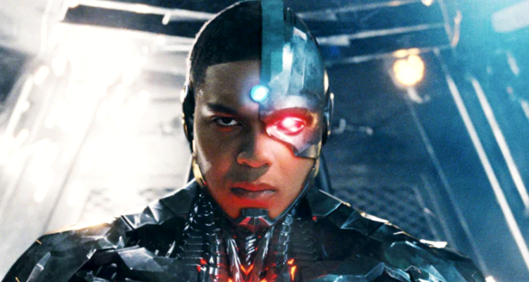 Ray Fisher and Cyborg Out from The Flash