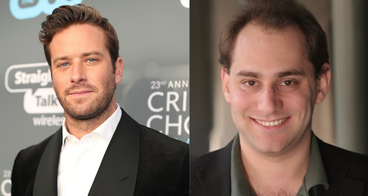 Armie Hammer and Scott Mendelson