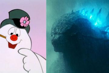 Godzilla Snowman