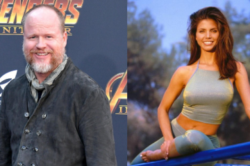 Joss Whedon and Charisma Carpenter
