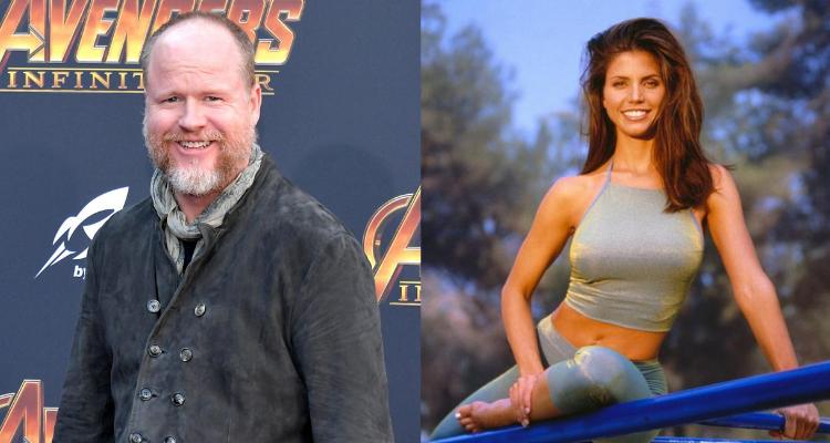 Joss Whedon and Charisma Carpenter