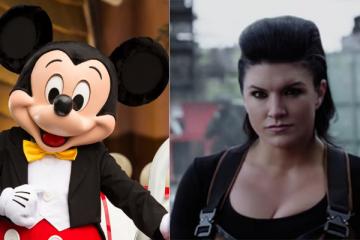Mickey Mouse Gina Carano