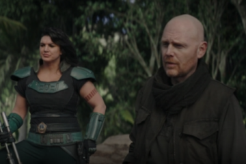 Bill Burr and Gina Carano