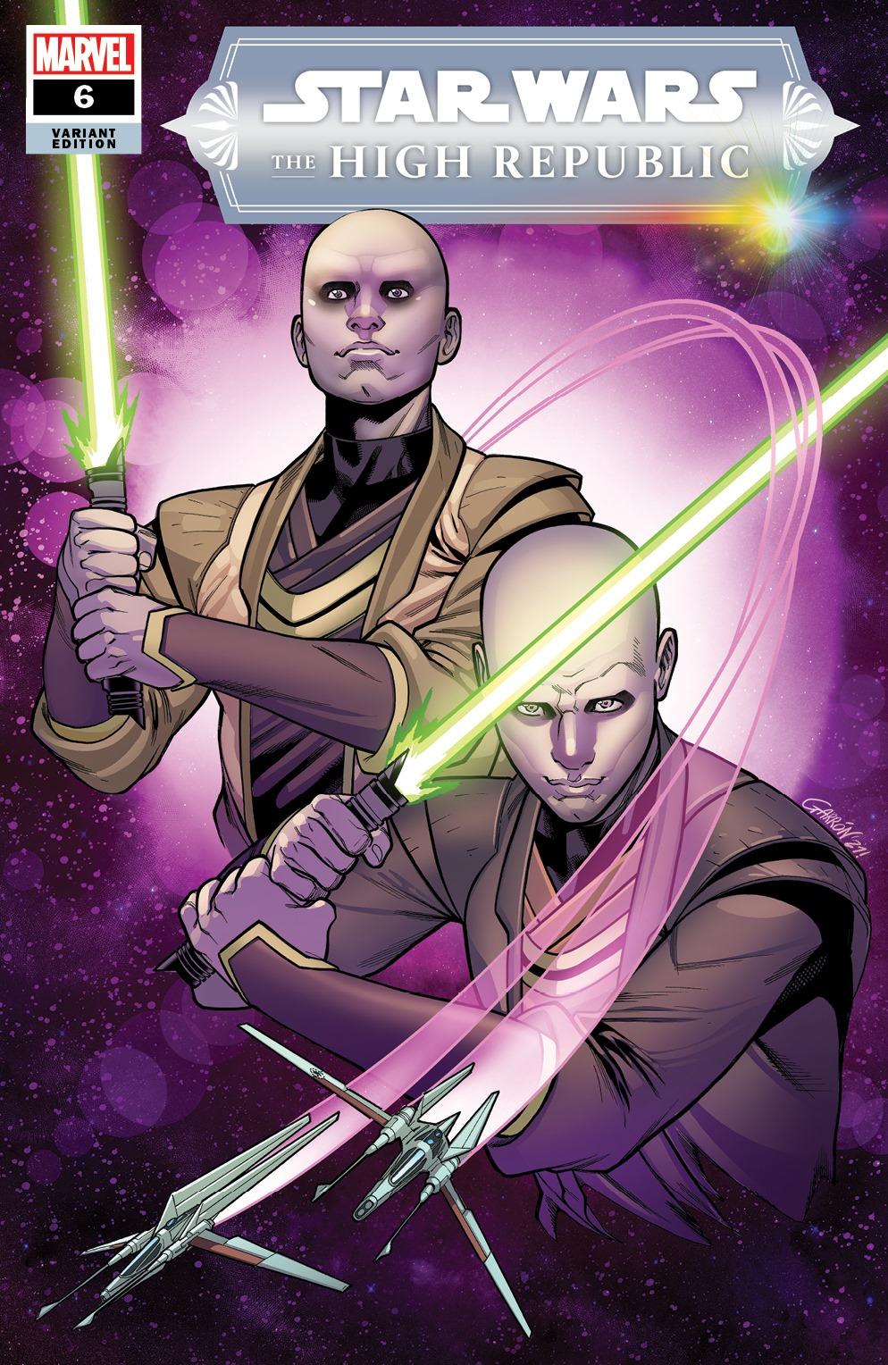 Nova capa de Star Wars com personagens não-bináries. (Foto: Divulgação)